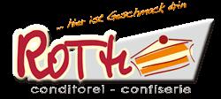 Conditorei – Confiserie Roth Logo